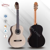 "[WINZZ] Wholesale 39"" Spruce plywood Top Rosewood Plywood Back Classic Guitar (AC88)"