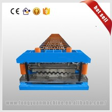Corrugated iron roofing sheet making roll forming machine