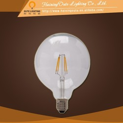 Big beam angle edison led filament bulb light 4w
