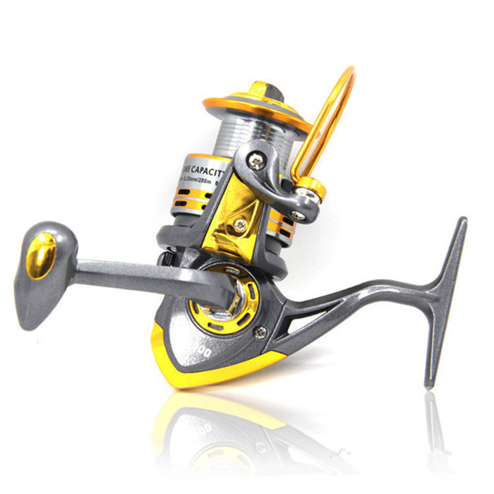 Hot sale 6bb db500 6000a best metal spinning fishing reel for Best ice fishing reel