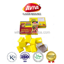 CHICKEN/BEEF/SHIMP flavored bouillon cubes Mixed seasoning stock cubes Halal[AVIVA CUBES]
