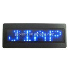 12v led car message with led light scrolling message
