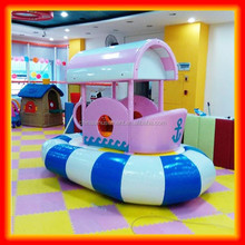Inflatable baby boat for soft playground