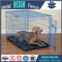 factory wholesale bird pet cage blue dog crate