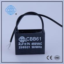 CBB61 Fan 240v AC Motor Capacitor