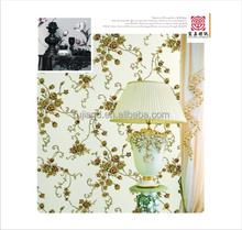 modern design vinyl wallcovering with deep pattern