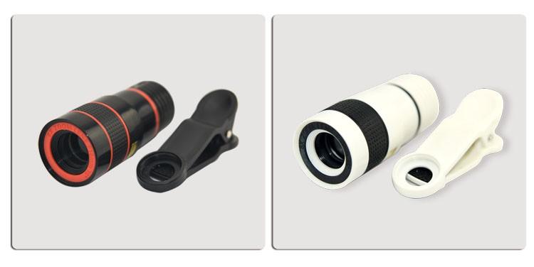 Wholesale mini universal clip zoom telescopes mobile phone