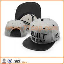 Fashion mens wool caps leather visor flat caps made in china factories