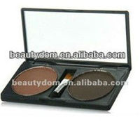 Professional 2 colors eyebrow powder palette