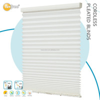 PVC home decor Room Darkening Pleated blind