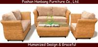 Hot Sale Foshan Manufacturer New Modern Comtemporary Trendy Elegant godrej chinioti Rattan Wooden Sofa Set Designs