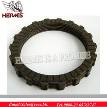 Chinese manufacture T125A rubber Clutch Friction Disk for motorbike / motorcycle clutch plate