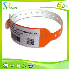 convenient hospital waterproof durable high quality disposable China wholesale printable customized cheap tyvek wristbands