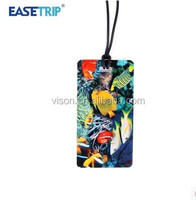 New Design Funny Luggage Tag Wholesale Travel Luggage Tag