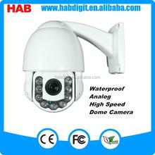 Mini 9LEDS Analog 1000TVL IR CCTV PTZ mini speed dome camera with resume function
