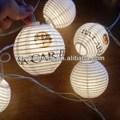 Papel 20 animales LAMP-0234 linternas luces de cuerda / hada / lámpara hechos a mano para la decoración del hogar / iluminación, LED disponibles, CE / GS / SAA / UL