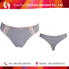 Ladies sexy cotton thongs underwear women pictures of women lace g-string hot selling lace underwear