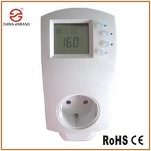 Sol électrique tapis de chauffage thermostat régulateur de prise