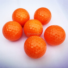 Large sale to worldwide of 330 dimple orange golf ball