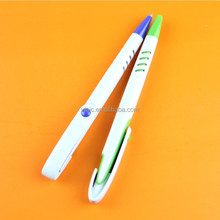 two-tone color promotional plastic ball pens