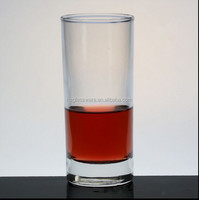 Straight dof glass / drinking glass tumbler 8oz