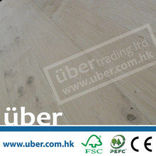 Unfinished/Pre-finished (European White Oak) Indoor Usage Engineered Wood Flooring for home decoration