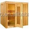 Deluxe and tranditional 3 person sauna room,outdoor sauna for sale,steam sauna room