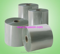 PVC high quality clear heat shrink plastic film for label printing