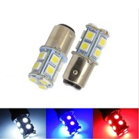 1156 382 BA15S P21W 1157 BAY15D p21/5w BAY15D PY21W LED Light Bulb 13SMD 5050 Brake Tail Turn Signal Light Bulb Lamp 12V red