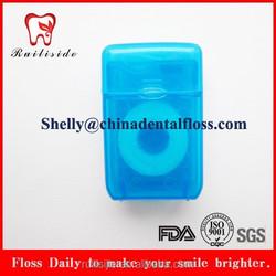 different material rectangle box dental floss/flosser