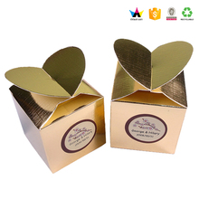 Customized sweet printed gift box for cake