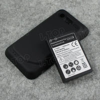 For HTC Incredible S S710E extended battery,3.7V 3500mAh, Made in china