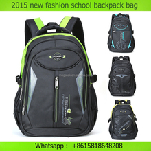 High-end 18 inch nylon unisex laptop backpack business travel customize school backpack