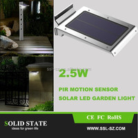 Solid State Low Price Outdoor 46 LED Small Solar Motion Sensor Light