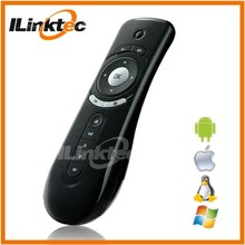 LINK professional wireless mini remote keyboard handled with 3d G-sensor ari mouse for project