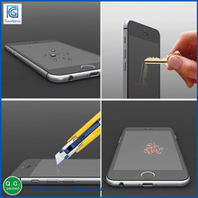 2.5D 0.33MM Mobile Phone Screen Protectors For iphone 6s Imitation Of Scraping Transparent Tempered Glass