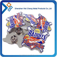 Sport metal badges for gift