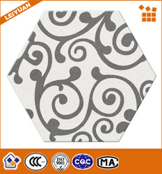 3d Inkjet Flower Pattern Decorative Porcelain Tile