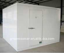 Supermarket frozen cold storage room for meat and fish,40CBM Capacity