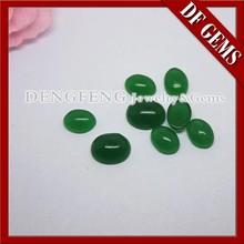 taglio ovale agata verde sintetico pietra occhio di gatto