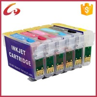 Refill ink cartridge for epson Stylus Photo 1390/T60 printer