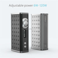 Newest design wireless charging VW mod adjustable wattage 120w eiffel A1 box mod vaporizers wholesale
