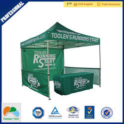 pop up camping steel frame tent 5x5