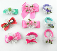 New Design pretty school kids hair barrettes