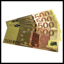 24k pure gold banknote best business gift