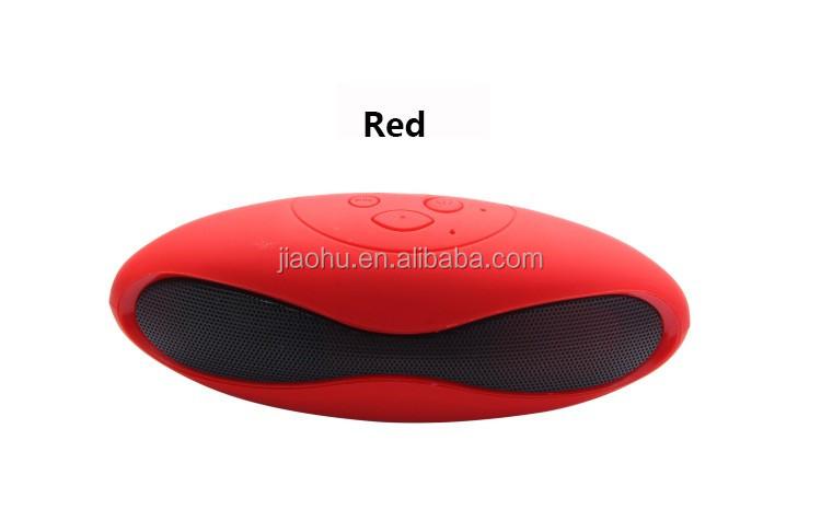 Mini X6 Sans Fil Portable Audio MP3 Lecteur Rugby Mains Libres Bluetooth Haut-Parleur