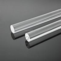 clear plastic rod