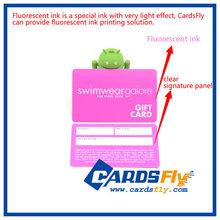 Custom designed PVC Webstore gift card