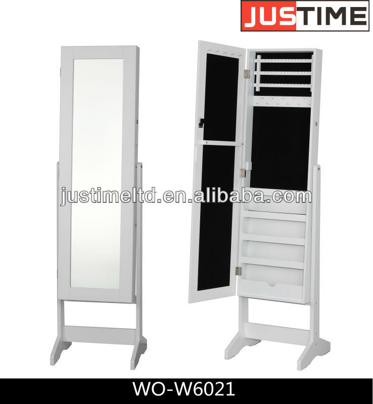 miroir de maquillage avec coffret bijoux pleine longueur miroir armoire miroir de maquillage. Black Bedroom Furniture Sets. Home Design Ideas