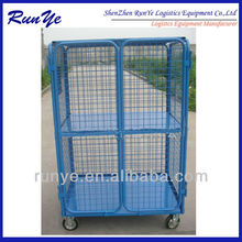 double door security logistic cage